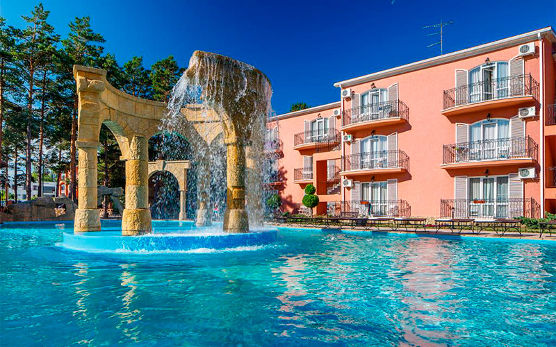 Отель «ALEAN FAMILY RESORT & SPA RIVIERA / Ривьера» Анапа